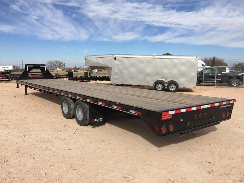 "2019 Delco 102"" X 40' 25900 GVW Tandem Heavy Duty Gooseneck Equipment Trailer"