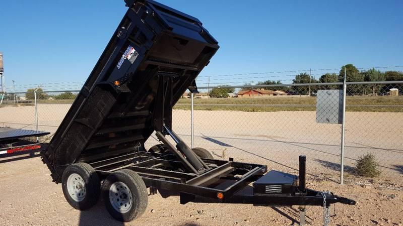 2018 Load Trail 5' x 10' Bumper Pull 7k Dump