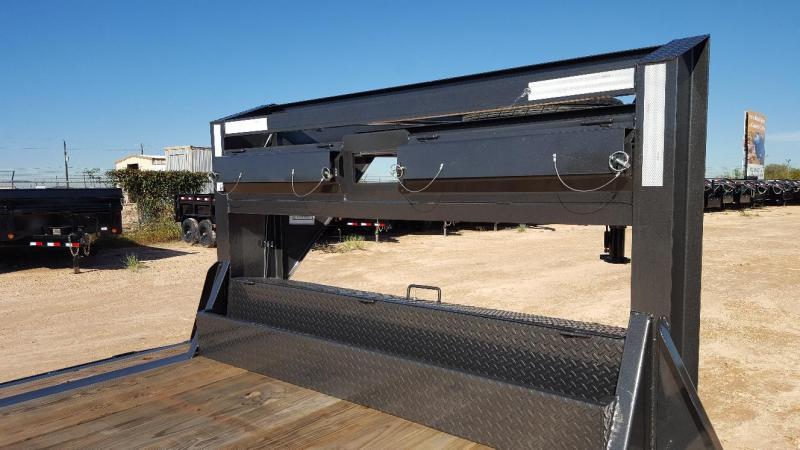 "2019 Delco 102"" X 40' Triple Gooseneck Carhauler Car / Racing Trailer"