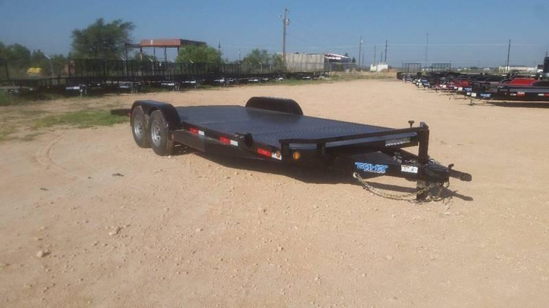 "2018 TOP HAT 83"" x 20' All Steel Car Hauler 2-5200# Axles"