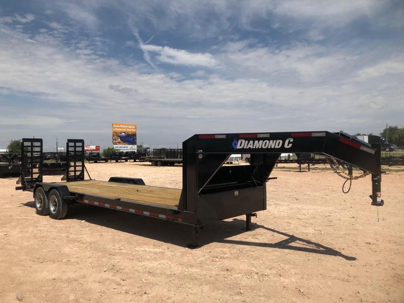 2019 Diamond C Trailer 24' Equipment Trailer 20000 Gvw