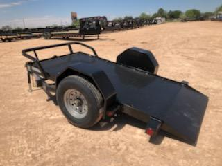 2019 Load Trail 60x10 Scissor Hoist Trailer Equipment Trailer