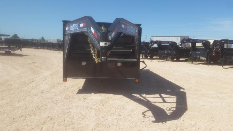 "2018 Load Trail 83"" x 16' - 14k Gooseneck 4' Sides"