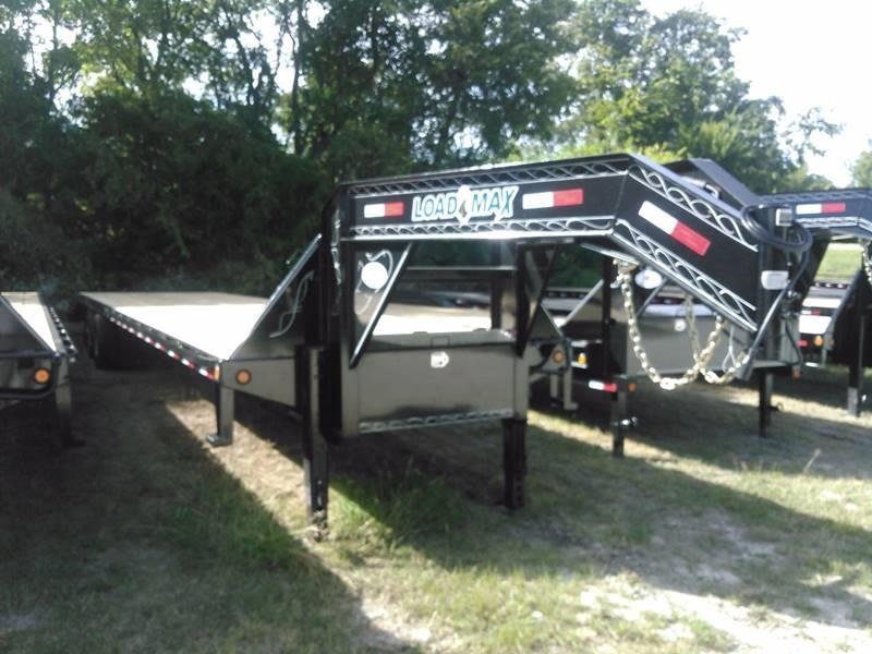 2018 Load Trail 102 x 40' Air Ride - Lift Axle - Disc Brakes - King Ramps