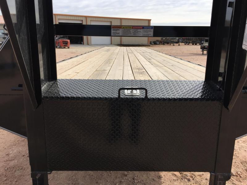 "2018 Delco 102"" X 40' 24000 GVW Tandem Heavy Duty Gooseneck Equipment Trailer"