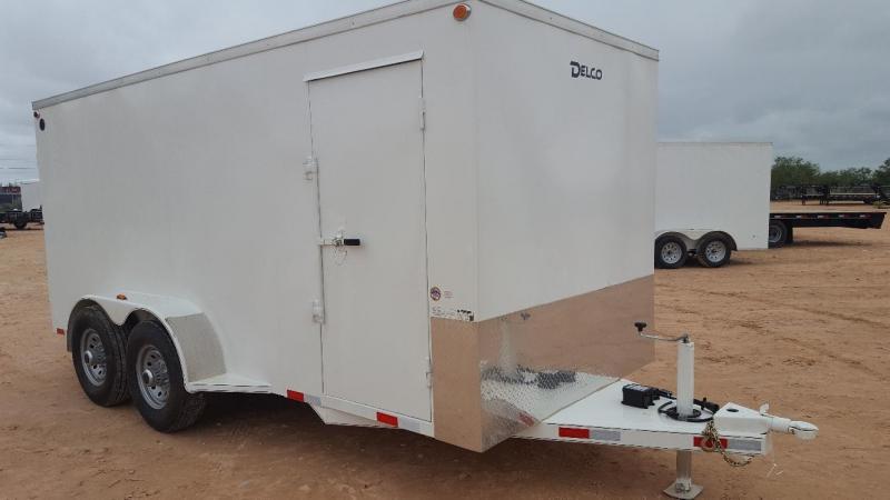 2019 Delco 6.8x16 HD Steel Cargo Trailer