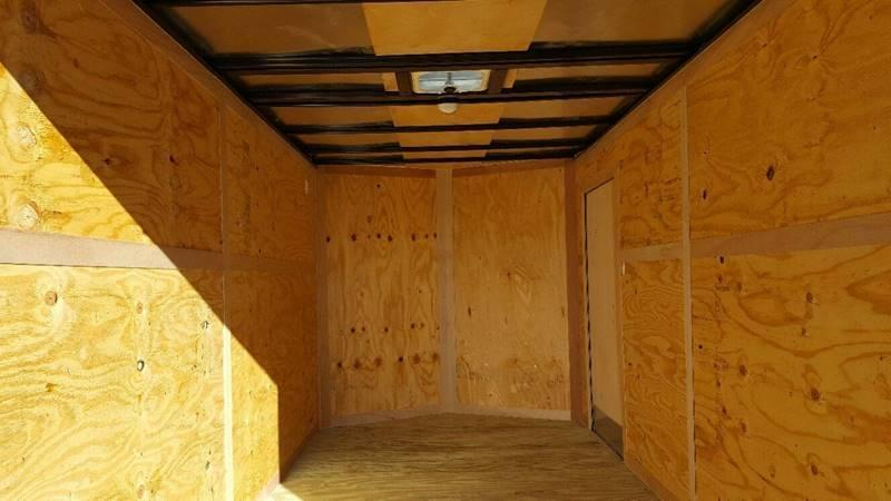2019 Salvation Trailers 7 X 14 TA Enclosed Barn Doors