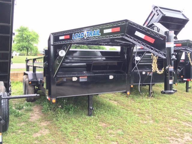 """2017 Load Trail 83"""" x 14' - 14k Gooseneck Tarp Kit"""