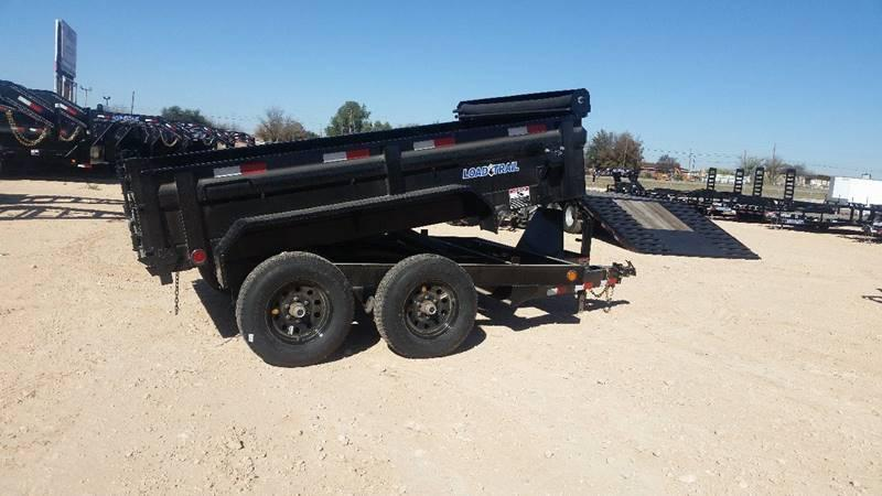 2017 Load Trail 6x10 9990 GVW w/ Black Wheels