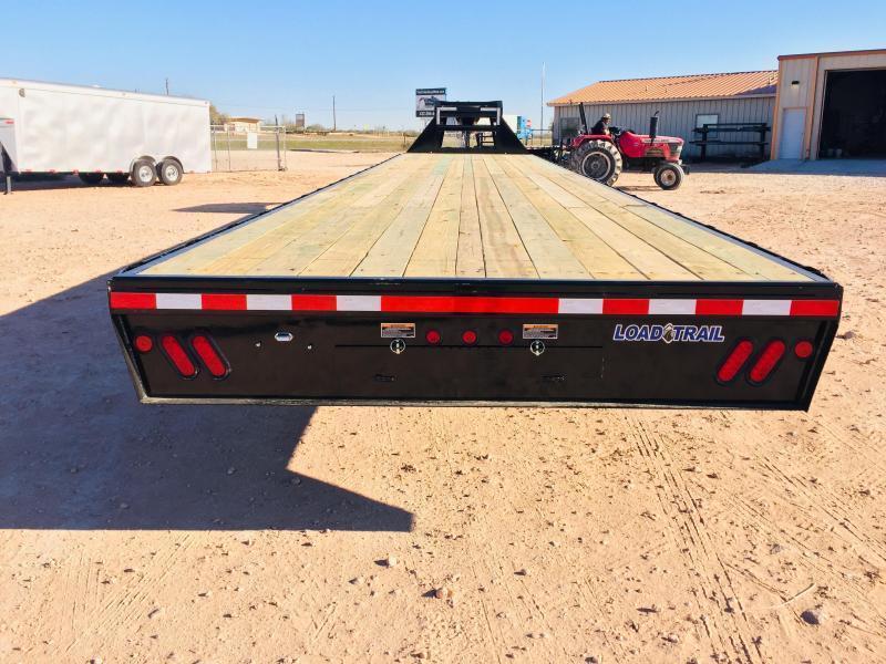 "2019 Load Trail 102""x30' 30000 GVW Gooseneck w/ Ratchet Rail"