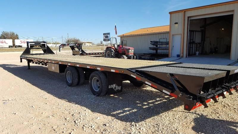 2019 Load Trail 40' Air Ride Spread Axle King Ramps Disc Brakes