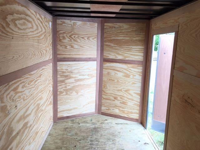 2019 Salvation Trailer 6 X 12 SA Enclosed Barn Doors
