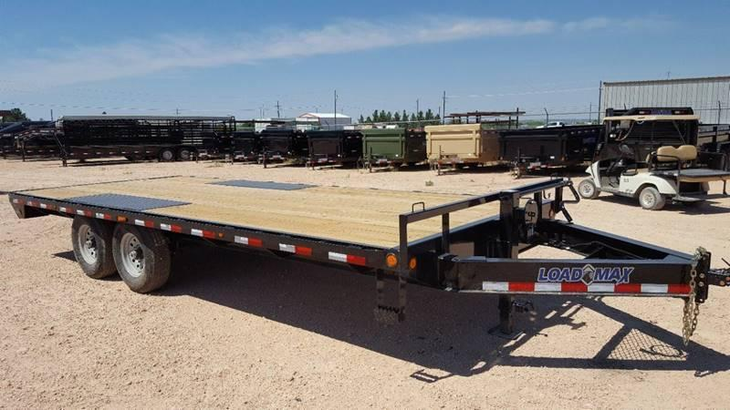 "2018 Load Trail 102""x 20' 14k Deckover Bumper Pull w/ 8' Ramps"
