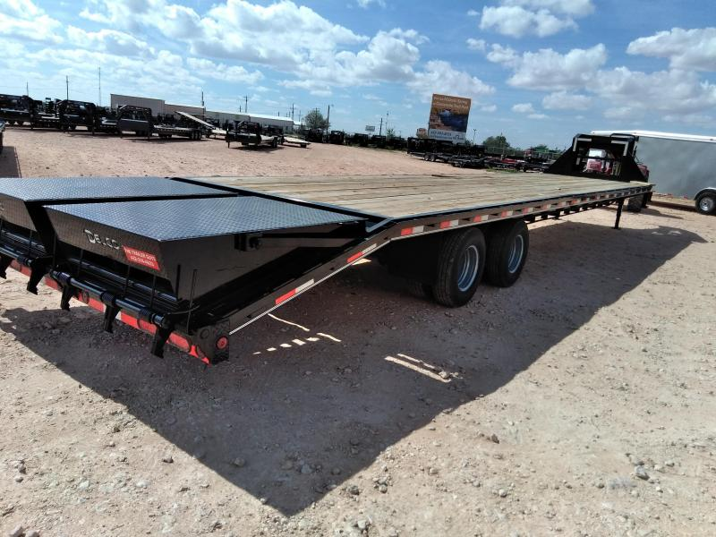 "2018 Delco 102"" X 40' Tandem Heavy Duty Gooseneck Equipment Trailer"