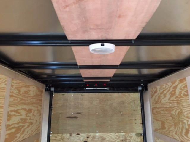 2019 Salvation Trailer 6 X 12 SA Enclosed Rear Ramp