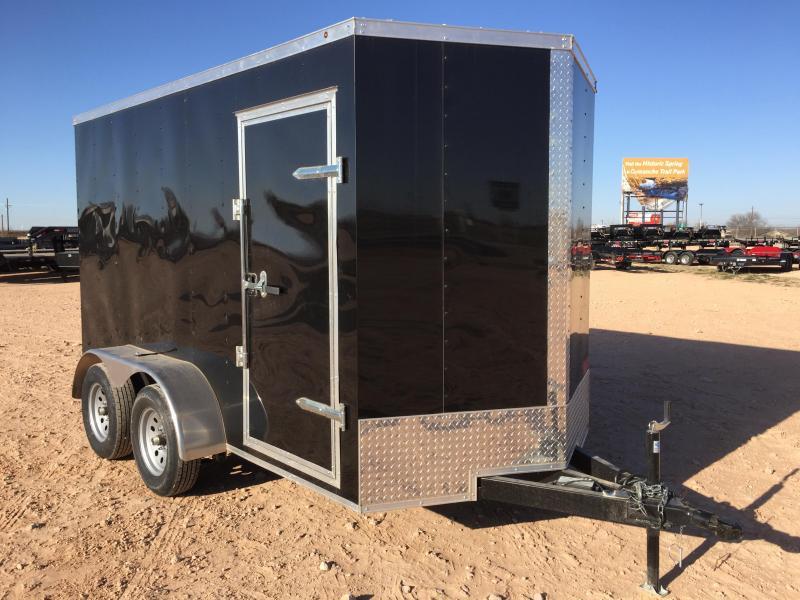 2019 Salvation Trailer 6 X 12 TAR Enclosed Rear Ramp