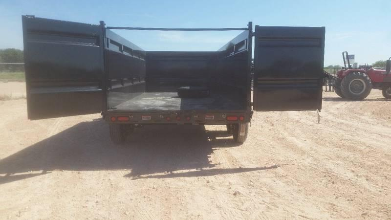 "2018 Load Trail 83""x 16' 14000 GVW Gooseneck Dump w/ 4' Sides and Tarp"