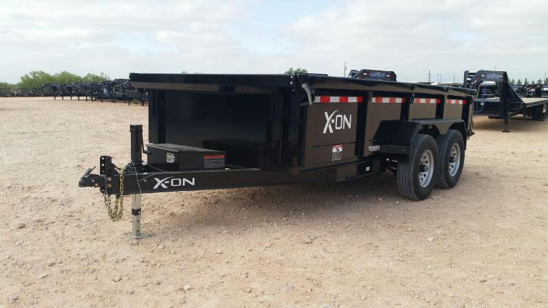 "2019 X-On 83"" x 16' Dump Trailer"