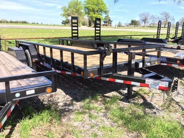 """2018 Load Trail 83"""" X 18' Carhauler 6"""" frame"""