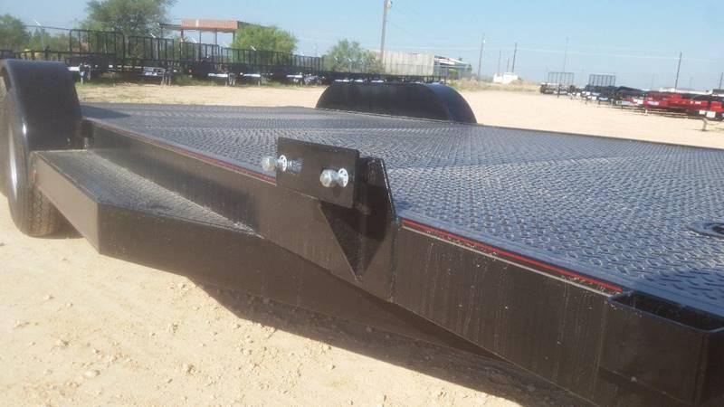"2018 TOP HAT 83"" x 18' All Steel Car Hauler 2-3500# Axles"