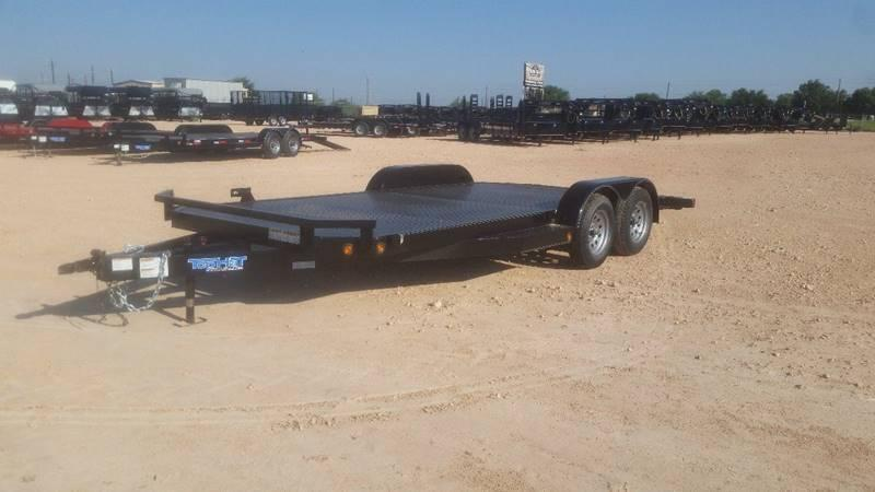"2018 TOP HAT 83"" x 18' All Steel Car Hauler 2-3500# Axles"