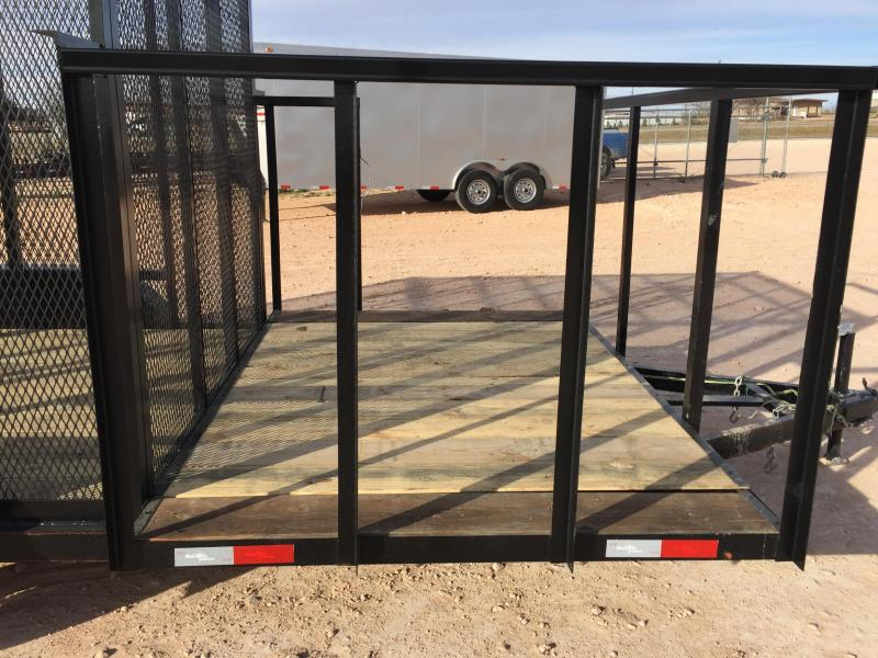 2019 Salvation 83x 16 Port a Potty Trash Trailer Utility Trailer