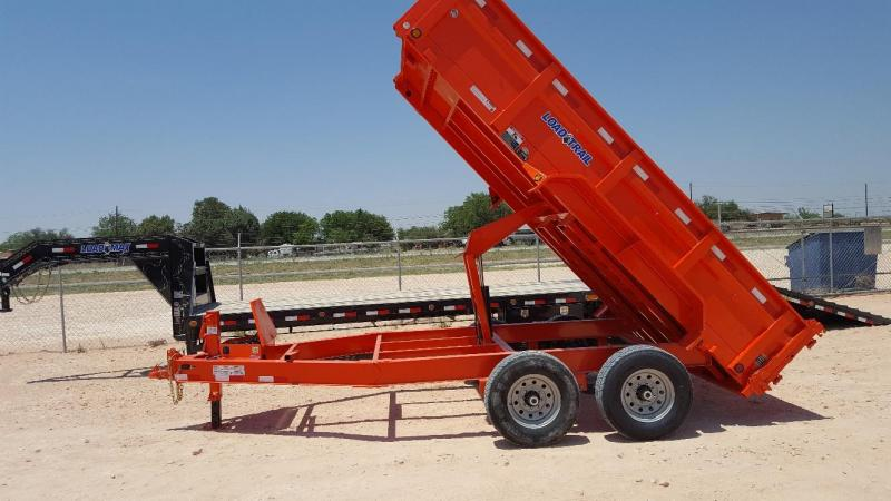 2018 Load Trail DT8314 14K Bumper Pull w/ Tarp Kit Dump Trailer