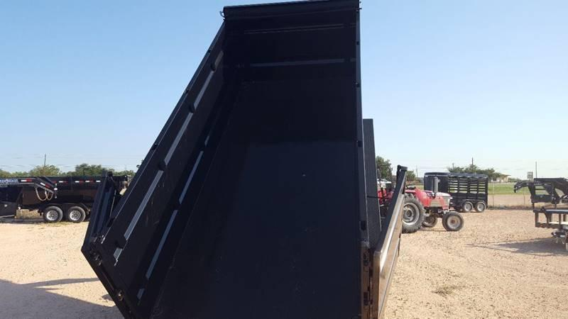 "2019 Load Trail 83""x 16' Gooseneck Dump Triple Axle 21K Gvw"