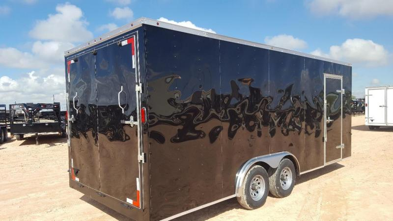 2019 Salvation Trailers 8.5 X 20 Enclosed