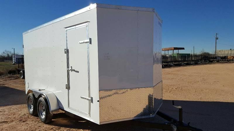 2020 Salvation Trailers 7 X 14 TA Enclosed Barn Doors