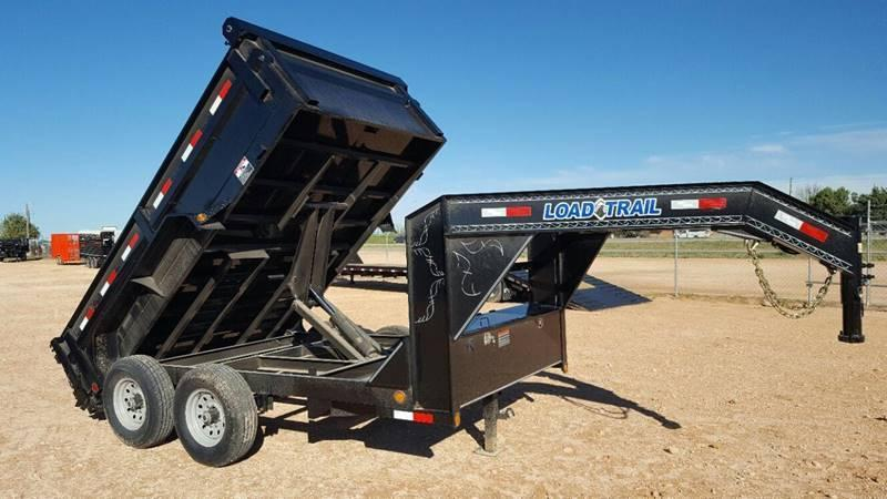 2018 Load Trail 12' Commercial Grade Gooseneck w/ Tarp Kit