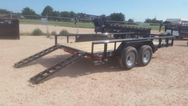 """2018 Load Trail 83""""x 18' Pipe Top"""