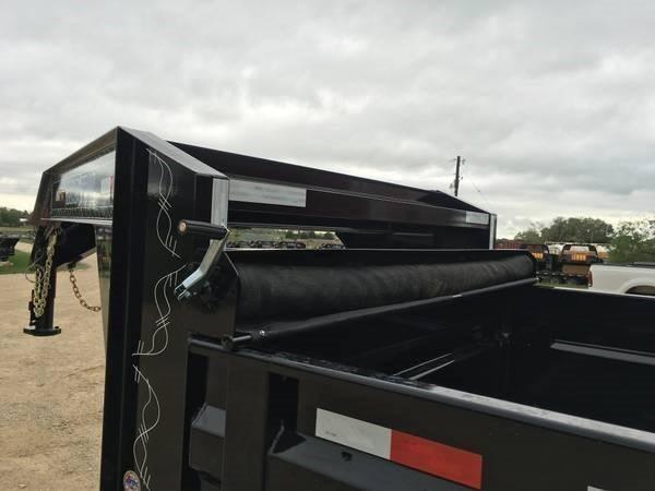 2018 Load Trail 14' 14000 Gvw Gooseneck Dump w/ Tarp Kit