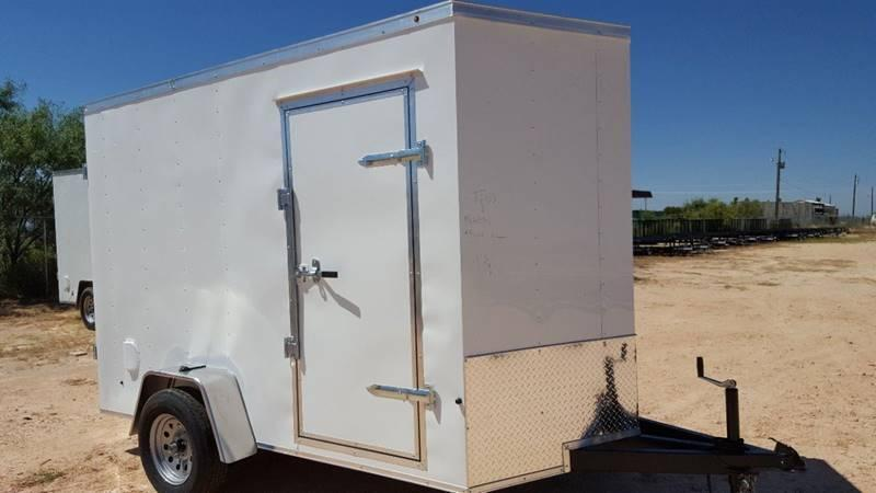 2019 Salvation 6 x 10 V Nose Cargo Trailer