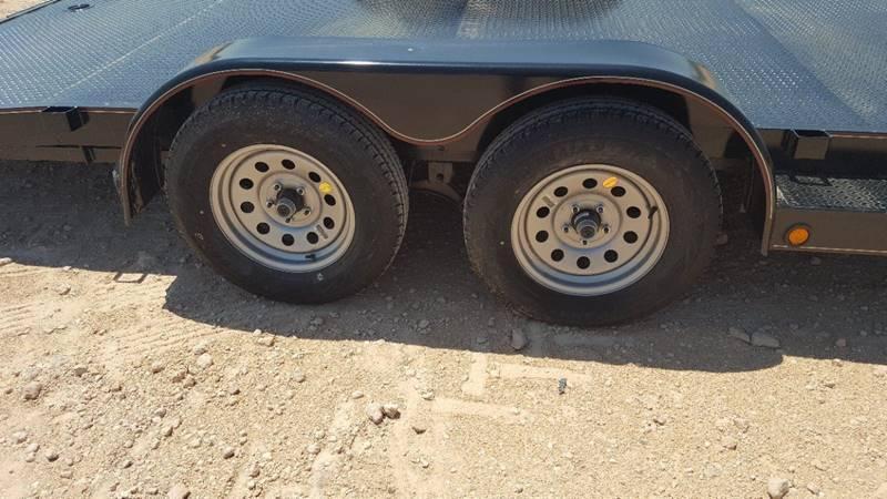 "2018 TOP HAT 83"" x 20' All Steel Car Hauler 2-3500# Axles"