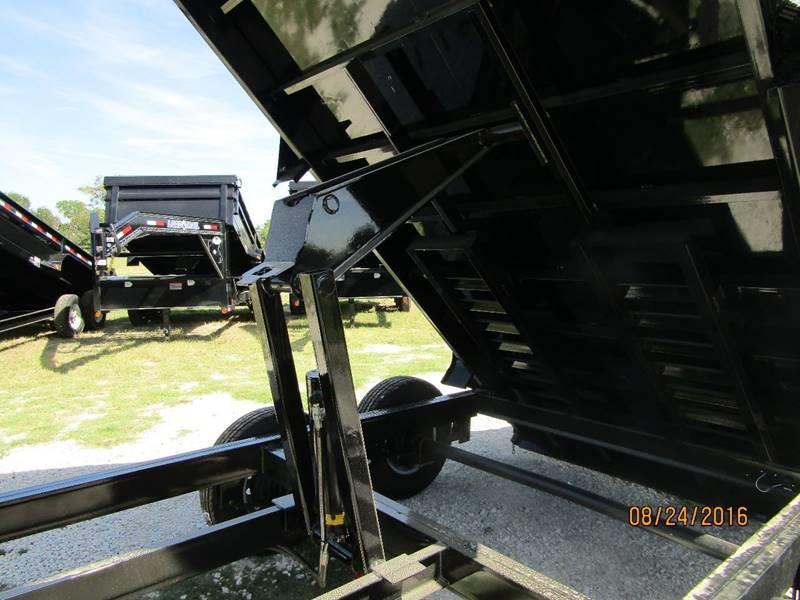 "2018 Load Trail 83"" x 14 GN w/Scissor lift Dump Trailer (2 El. Brakes)"