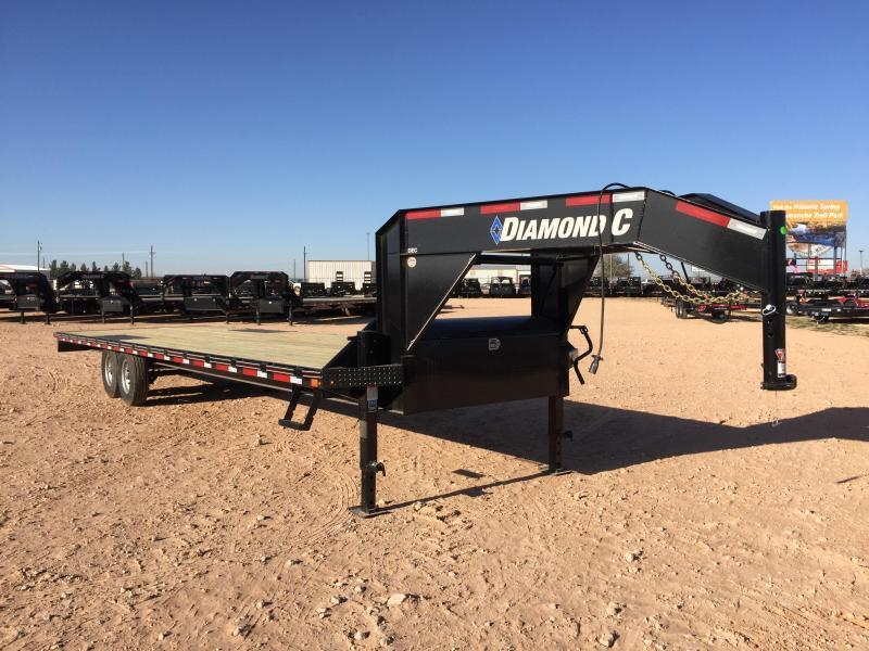 2019 Diamond C 26' Gooseneck 14K Straight Deck