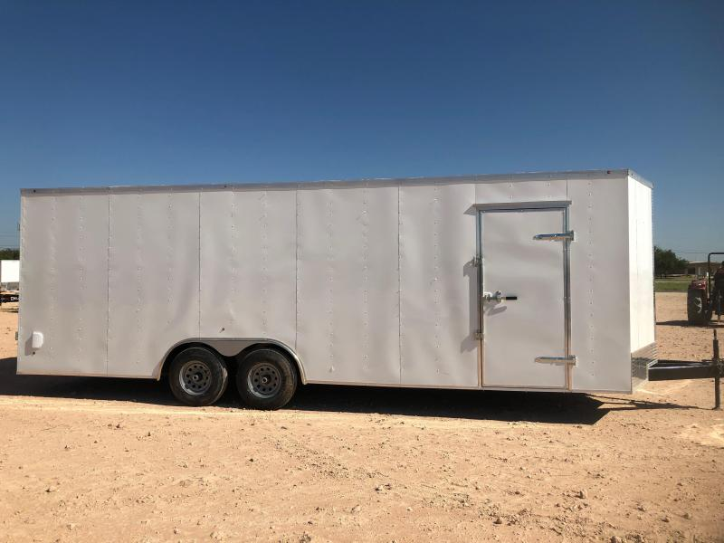 2019 Salvation Trailers 8.5'X24' ENCLOSED Enclosed Cargo Trailer