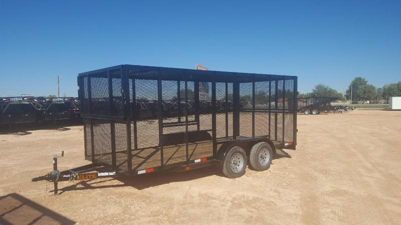 2019 Salvation 16 ft Trash Trailer