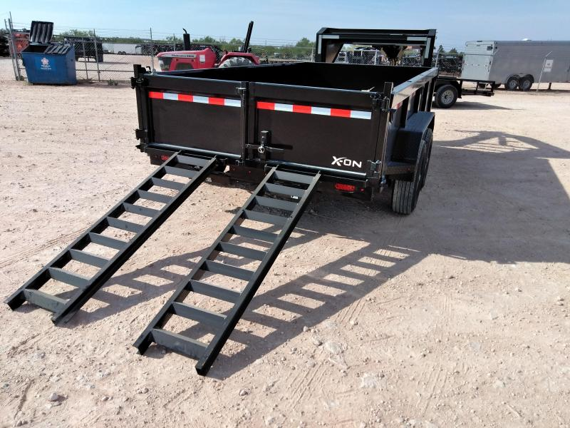 "2019 X-ON 83"" x 12' Gooseneck Dump Trailer"