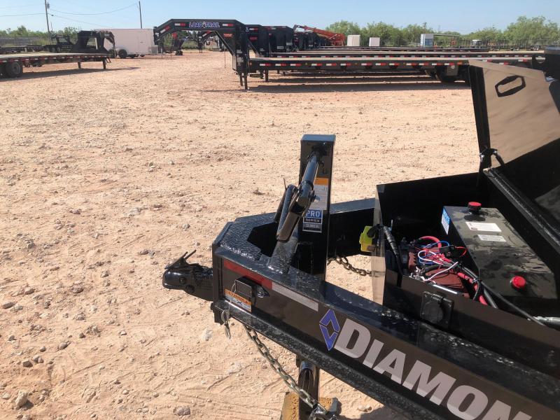 2019 Diamond C 16' 20K HD Dump Trailer