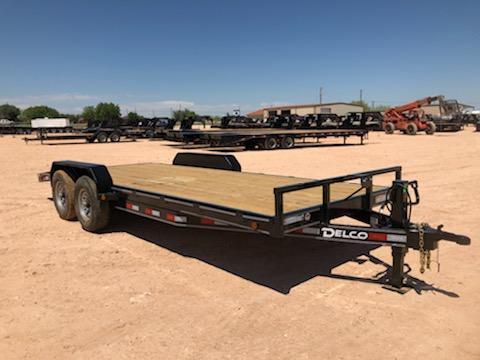2019 Delco 20' 14K Carhauler w/ Diamond Plate Dovetail