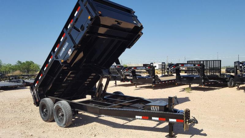 2018 Load Trail 14' Scissor Lift Dump Trailer