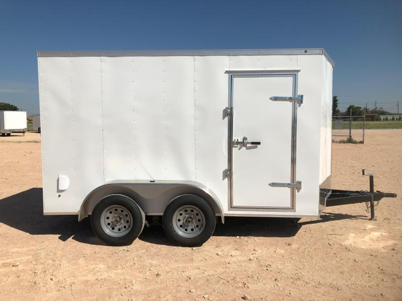 2020 Salvation Trailers 7X12 ENCLOSED Enclosed Cargo Trailer