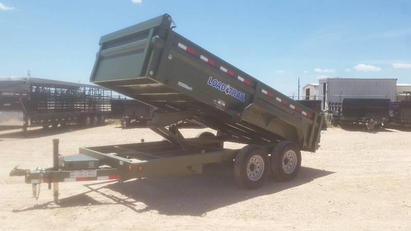 "2018 Load Trail 83""x 14' 14k Dump Trailer w/ Tarp Kit"