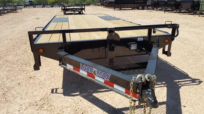 "2019 Load Trail 102""x 20' 14k Deckover Bumper Pull w/ 8' Ramps"
