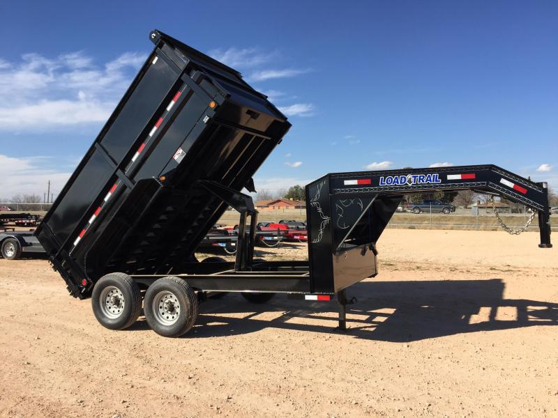 "2019 83""x 12' Gooseneck Dump Trailer w/ 4' Sides and Tarp"