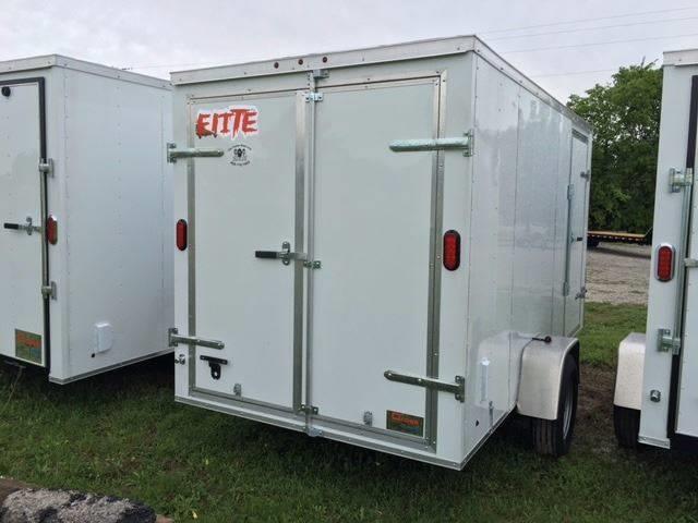 2019 Salvation Trailers 6 X 12 SA Enclosed Barn Doors
