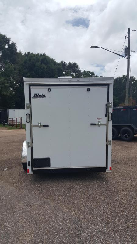 2020 Rock Solid Cargo 6x10 Single Axle Enclosed Cargo Trailer