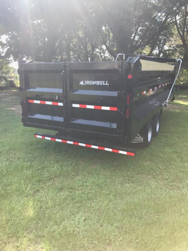 2019 Iron Bull 96X20 Dump Dump Trailer